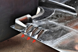 McLaren MCL33 Renault floor detail