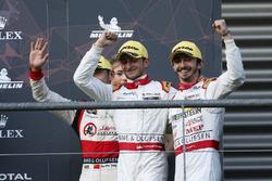 LMP2 podium: second place #38 Jackie Chan DC Racing Oreca 07: Ho-Ping Tung, Gabriel Aubry, Stéphane Richelmi