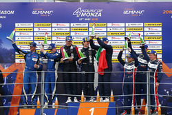 LMP3 Podium: winners #11 Eurointernational Ligier JS P3 - Nissan: Giorgio Mondini, Kay Van Berlo, second place #6 360 Racing Ligier JS P3 - Nissan: Terrence Woodward, Ross Kaiser, James Swift, third place #3 United Autosports Ligier JS P3 - Nissan: Anthony Wells, Garret Grist, Matthew Bell