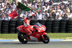 Max Biaggi, vainqueur de la course