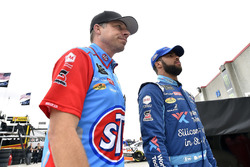 Darrell Wallace Jr., Richard Petty Motorsports, Chevrolet Camaro World Wide Technology y Drew Blickensderfer