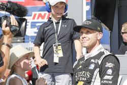 Ed Carpenter, Ed Carpenter Racing Chevrolet reacciona al ganar la pole