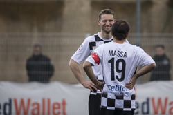 Maro Engel, and Felipe Massa