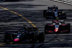 Alexander Albon, DAMS,Nyck De Vries, PREMA Racing