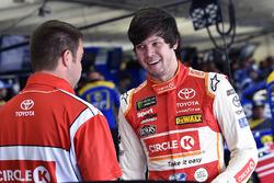 Erik Jones, Joe Gibbs Racing, Toyota Camry Circle K and Chris Gayle