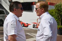 Zak Brown, McLaren Racing CEO and Danny Sullivan