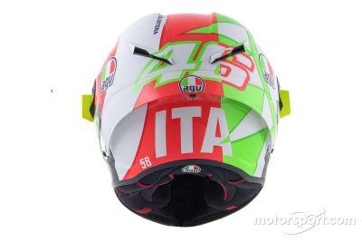 Valentino Rossi'nin Mugello özel kaskı