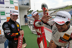 Podium : Dan Ticktum, Motopark Dallara F317 - Volkswagen, Mick Schumacher, PREMA Theodore Racing Dallara F317 - Mercedes-Benz, Enaam Ahmed, Hitech Bullfrog GP Dallara F317 - Mercedes-Benz