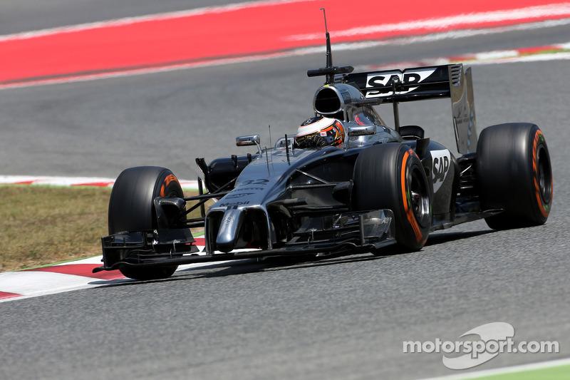 Стоффель Вандорн, McLaren MP4-29 Mercedes