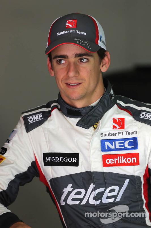 Esteban Gutierrez, Sauber F1 Takımı