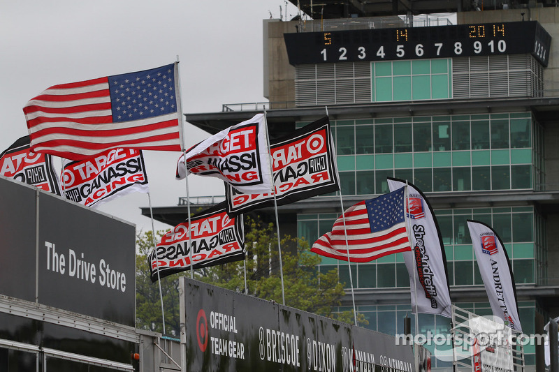 Flags at IMS
