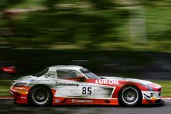 #85 HTP Motorsport Mercedes SLS AMG GT3: Sergei Afanasiev, Stef Dusseldorp