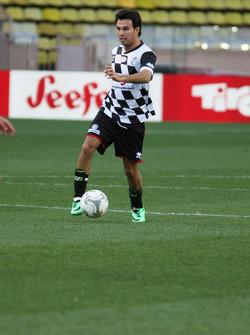 Sergio Perez, Sahara Force India F1 at the charity football match