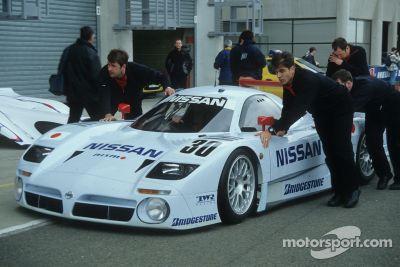 Nissan en la restrospectiva de Le Mans