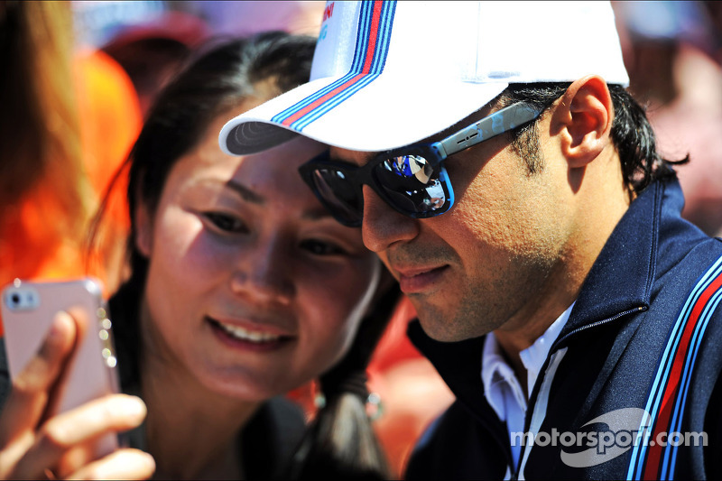 Felipe Massa, Williams ve taraftarlar