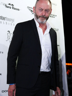 Liam Cunningham, attore, all'Amber Lounge Fashion Show