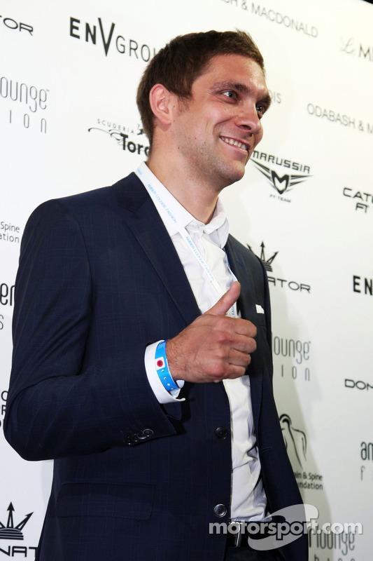 Vitaly Petrov, all'Amber Lounge Fashion Show