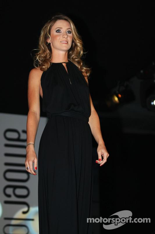Camille Marchetti, namorada de Jules Bianchi, Marussia F1 Team no Amber Lounge Fashion Show