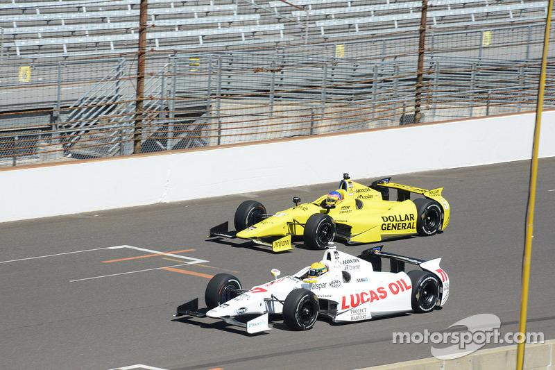 Simon Pagenaud, Schmidt Peterson Hamilton Motorsports Honda e Jacques Villeneuve, Schmidt Petersen Racing