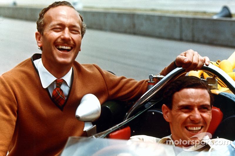 1965: Colin Chapman und Jim Clark