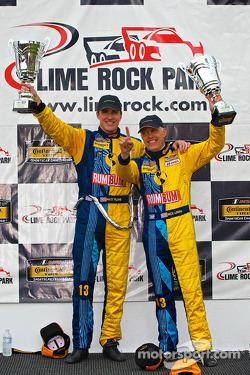 CTSCC GS class winners #13 Rum Bum Racing Porsche 997: Matt Plumb, Nick Longhi