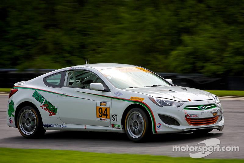 #94 Irish Mike's Racing Hyundai Genesis: David Thilenius, Ramin Abdolvahabi