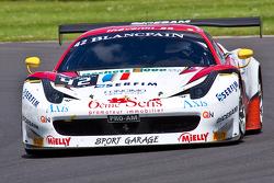 #42 Sport Garage 法拉利 458 Italia: 吉尔斯·瓦纳莱,Stephane Lemeret, 迈克尔·阿尔伯特