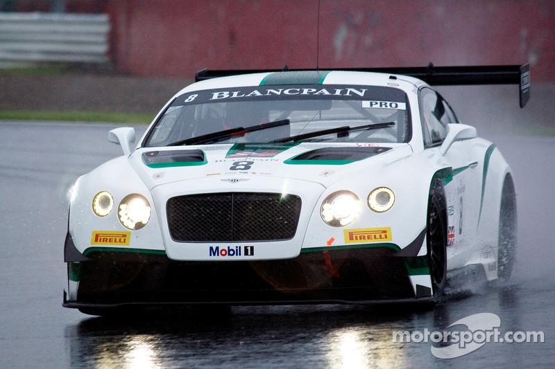 #8 M-Sport Bentley Bentley Continental GT3: Jérôme d'Ambrosio, Antoine Leclerc, Duncan Tappy