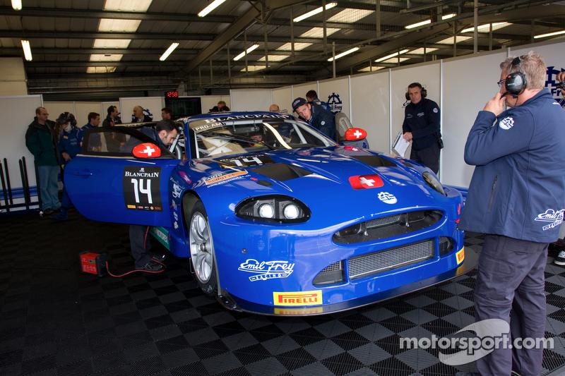 #14 埃米尔·弗莱 Racing 埃米尔·弗莱 G3 捷豹: 洛伦兹·弗莱, 加布里埃尔莱·加德尔, 弗雷迪·巴斯