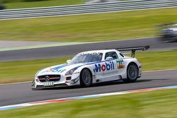 #21 BKK Mobil Oil Racing Team Zakspeed Mercedes-Benz SLS AMG GT3: Luca Ludwig, Alon Day