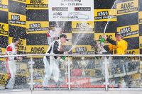 领奖台:比赛获胜者 Dominik Baumann, Cl奥迪a Hurtgen, 第二名 Kelvin van der Linde, Rene Rast, 第三名 Martin Ragginger, Jaap van Lagen