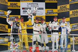绅士车手领奖台:第一名赫尔伯特·汉德罗斯,第二名托尼·塞勒,哲罗恩·布里克莫伦,第三名勒恩纳特·马里奥内克,利摩·利普斯
