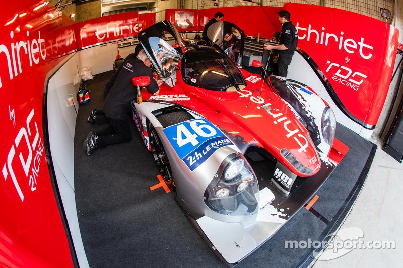 #46 Thiriet By TDS Racing Ligier JS P2 - 日产