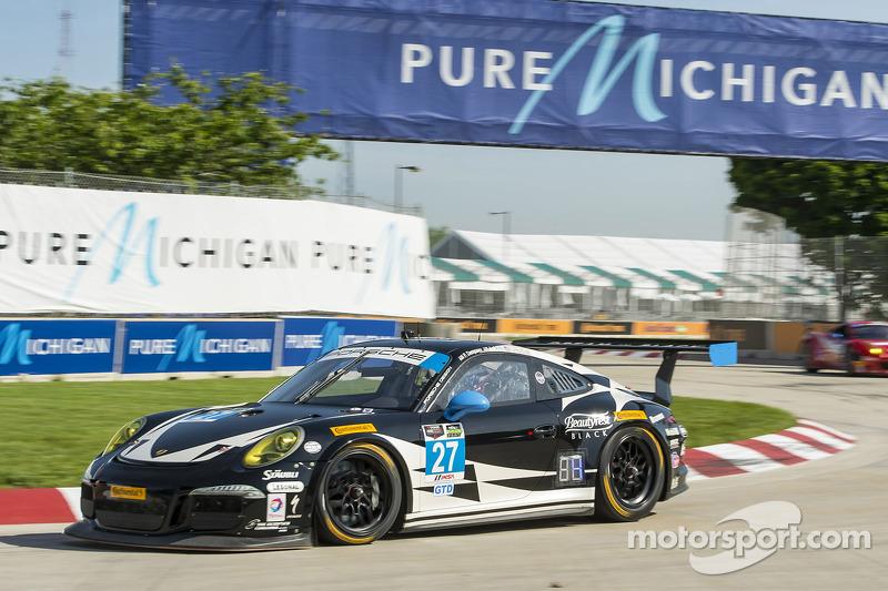 #27 Dempsey Racing Porsche 911 GT America: Brett Sandberg, Andrew Davis