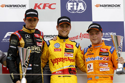 Podium, 2nd Esteban Ocon