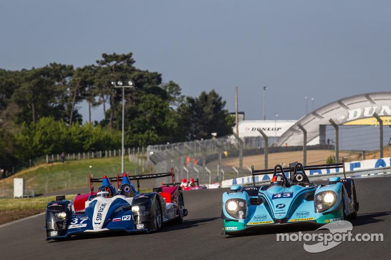 #37 SMP Racing Oreca 03 - Nissan: Kirill Ladygin, Nicolas Minassian, Maurizio Mediani e #43 Newblood