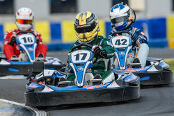 Media/drivers karting race: Matthew McMurry