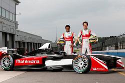 Karun Chandhok y Bruno Senna