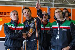 Gianluca Roda, Paolo Ruberti and Amato Ferrari