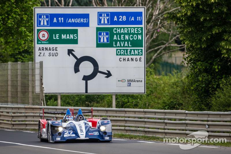 #27 SMP Racing Oreca 03 - 日产: 谢尔盖·兹洛宾, 米卡·萨罗, 安通·拉德金