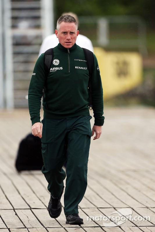 Tom Webb, Caterham F1, responsabile della Comunicazione