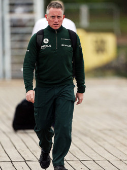 Tom Webb, Caterham F1 Team assessor de imprensa