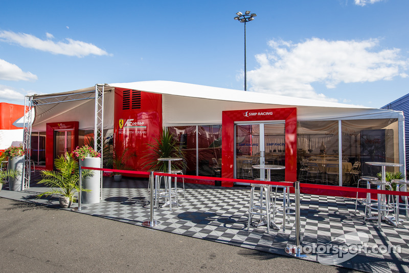 AF Corse hospitality