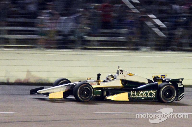 Ed Carpenter, Ed Carpenter Racing Chevrolet galibiyete ulaşıyor