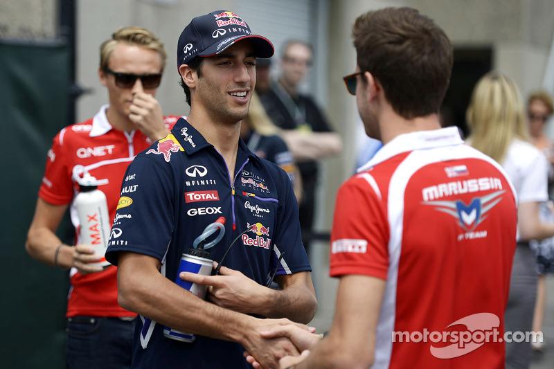 Rivales en monoplazas, compañeros de parrilla en Fórmula 1