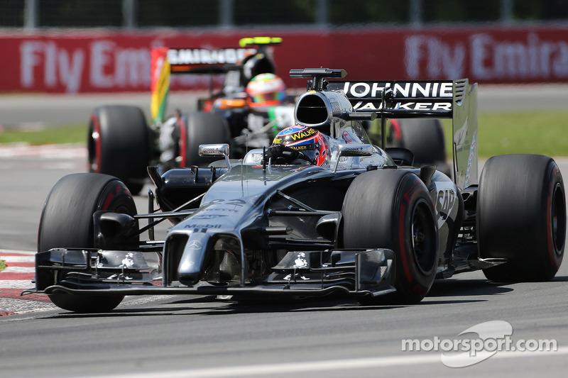 Jenson Button, McLaren F1 Team 08