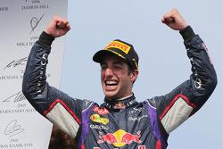 Переможець гонки Даніель Ріккардо, Red Bull