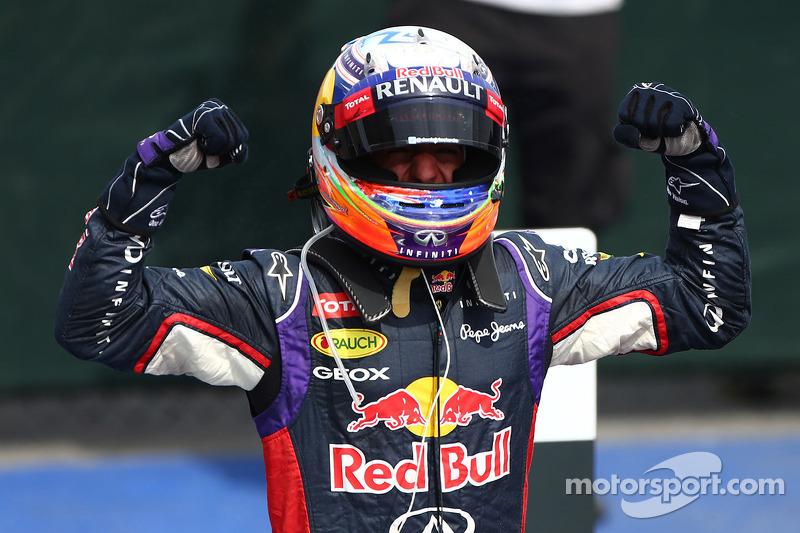 Primo posto Daniel Ricciardo, Red Bull Racing
