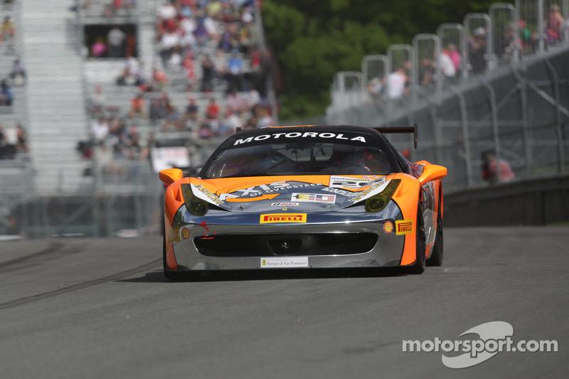 #26 The Auto Gallery Ferrari 458: Carlos Gomez