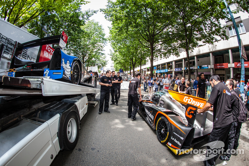 #33 OAK Racing - 亚洲 Ligier JS P2 - HPD 和 #35 OAK Racing Ligier - 日产